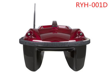 Double Bait Hoppers Red Remote Control Łódź rybacka, Anti-Wind RC Bait Boats RYH-001D